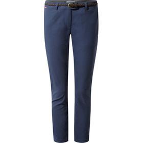 Craghoppers NosiLife Fleurie II Pantalones Mujer, azul